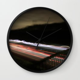 world in motion #1 Wall Clock