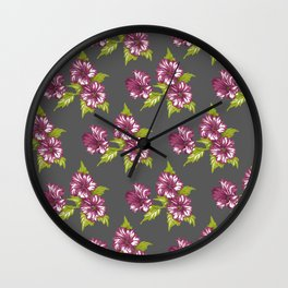Jessica Grey Wall Clock