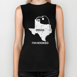 TX Texas Fishing design Gift for Fishermen and Anglers Biker Tank