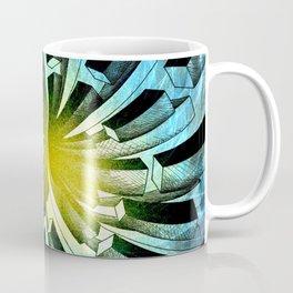 Spacial Fireworks Coffee Mug