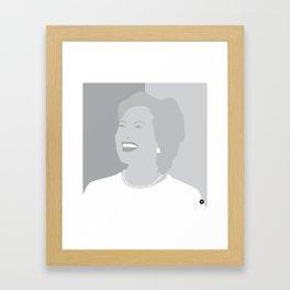Hillary Framed Art Print