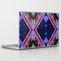 tarot Laptop & iPad Skins featuring Tarot 1B by Schatzi Brown