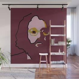 Allen Ginsberg Wall Mural