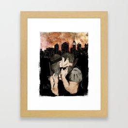 First we take Manhattan Framed Art Print
