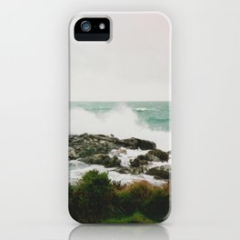 New Zealand wave, film iPhone Case