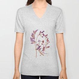 Botanical 1 Unisex V-Neck
