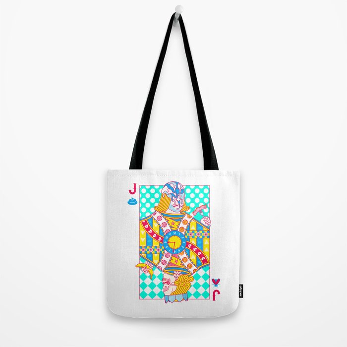 """Jack Shit """"LOST TIME"""" Tote Bag"""
