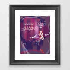 Showgirls Framed Art Print