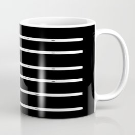WONDER STRIPES (black) Coffee Mug