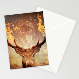 Internal flame Stationery Cards