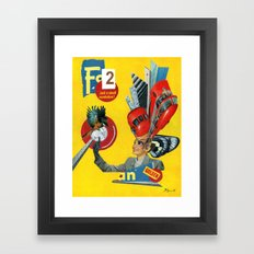 To Usher In a New Era Framed Art Print