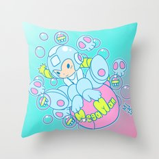 Kawaii Bomber Throw Pillow