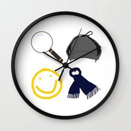 Sherlock Items Wall Clock