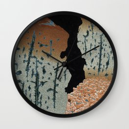 the mold eaters Wall Clock