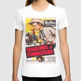 Vintage poster - Shadows of Tombstone T-shirt