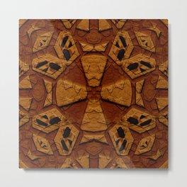 Ancient Stone Carvings Metal Print