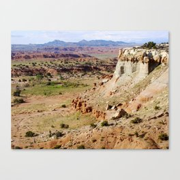 Painted Desert Valley Canvas Print