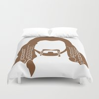 nori Duvet Covers featuring Fili's Beard by Paranoia mit Sahne