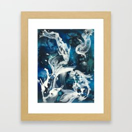 School of Celestial Guardians Framed Art Print