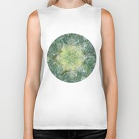 island Biker Tanks featuring Island by Laura O'Connor