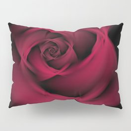 Abstract Rose Burgundy Passion Pillow Sham