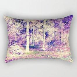 Lavender Forest Rectangular Pillow