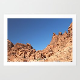 Desert Mountains Art Print