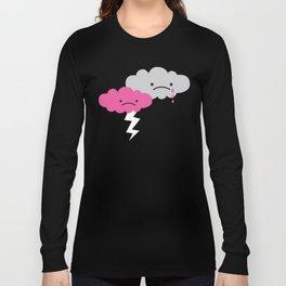 Sad Rain Cloud Long Sleeve T-shirt