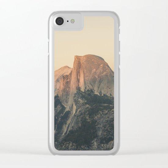 Half Dome III Clear iPhone Case