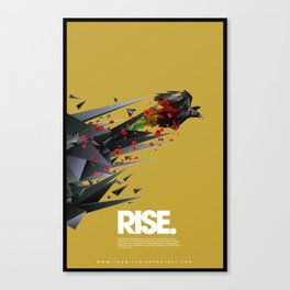 RISE by Michael Jewell Canvas Print