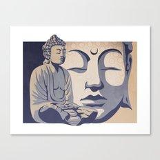 Zen Buddha: Awakened and Enlightened One Canvas Print