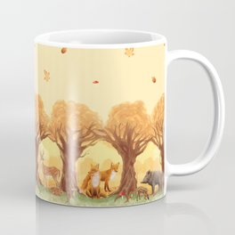 Sunny Forest Coffee Mug
