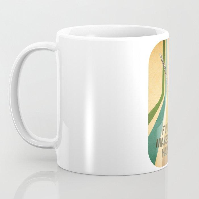 Transverse Flute Player Flutist Marching Band Gift Coffee Mug