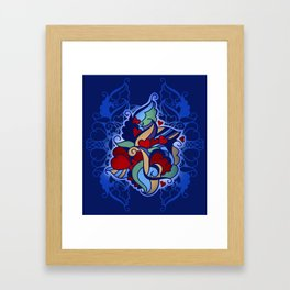Ornament Framed Art Print