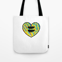 LGBT Equality Lesbian Gay Gender Equality Bisexual Transgender Feminism Gift Tote Bag