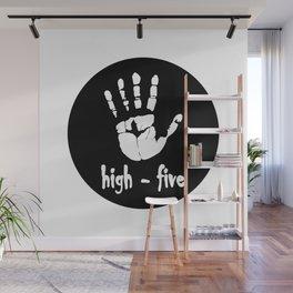 High five Wall Mural