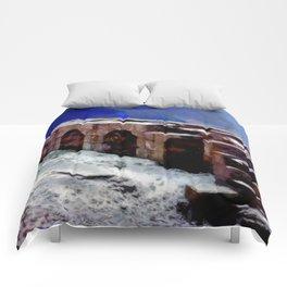 Winter Fort Comforters