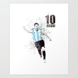 Sports art - World cup Argentina Art Print