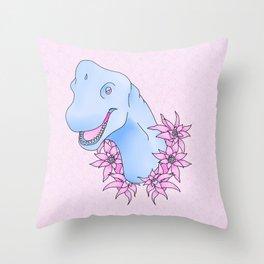 Brachio-Florist Throw Pillow