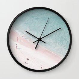 beach family love Wall Clock