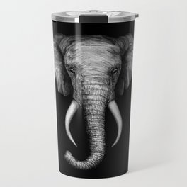 Elephant Head Trophy Travel Mug
