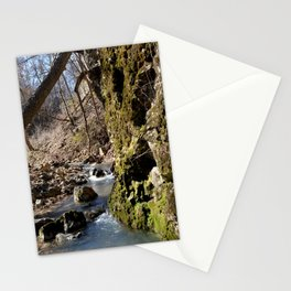 Alone in Secret Hollow with the Caves, Cascades, and Critters, No. 7 of 20 Stationery Cards