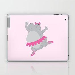 Hippo Ballerina Laptop & iPad Skin