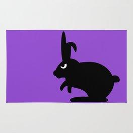 Angry Animals: Bunny Rug