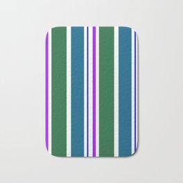 Stripes in colour 3 Bath Mat