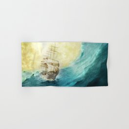 Through Stormy Waters Hand & Bath Towel