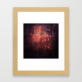 Cosmic twinkle Framed Art Print