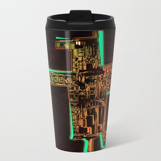 Spatial Robotic City Lab Metal Travel Mug