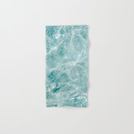 Clear blue water | Colorful ocean photography print | Turquoise sea Hand & Bath Towel