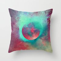 justin timberlake Throw Pillows featuring α Aurigae by Nireth